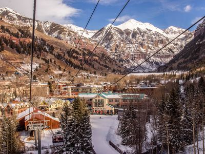 Photo for Alpine condo w/ ski-in/out & walk to slopes options in Mtn Village
