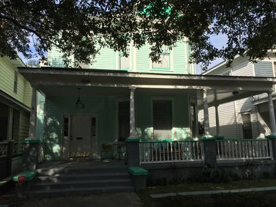 Photo for Groovy, Historic, Safe, Artist's Downtown Victorian Bungalow Near Forsyth Park