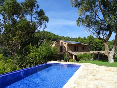 Photo for Magnificent finca in a privileged area of Soller with pool and plenty of space