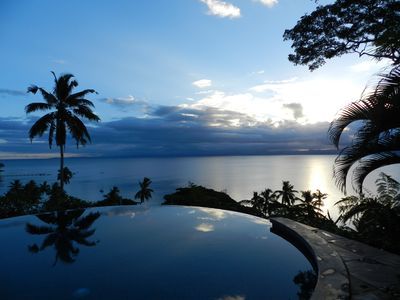 Photo for Beachfront Villa - Private Infinity Pool, Spectacular Views