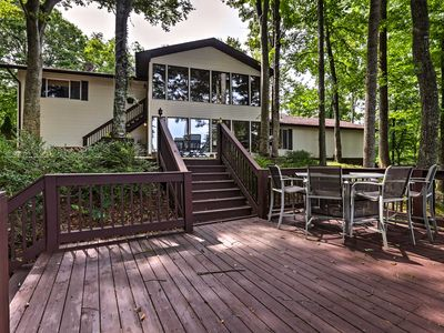 Photo for Lake Cumberland Home w/Deck, Grill & Fire Pit!