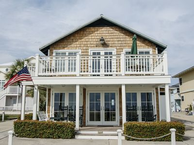 4 bedroom 3 bathroom Directly Oceanfront Restored 2 story original Beach Cottage
