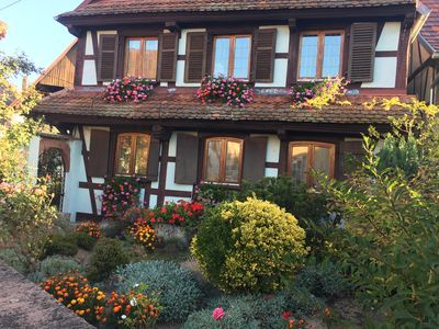 Photo for Accommodation in Alsatian farmhouse