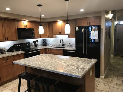 New-totally remodel kitchen, new everything.  Completed in Oct 2017
