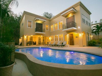 Photo for New Custom Home Perfect for Group Vacations! Private Pool, Walk to Beach, WiFi