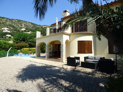 Photo for Offer July & August!! Luxury Villa, with private pool, air conditioning, wifi,