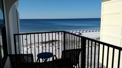 Gulf Front 4th Floor Condo, complete with a great view!
