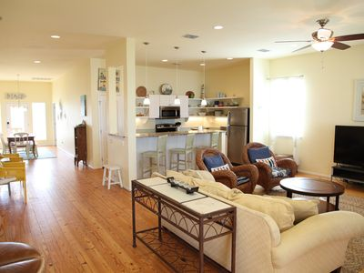 Photo for Quiet, Big, Bright and Beautiful!  Perfect Beach House for Family and Friends