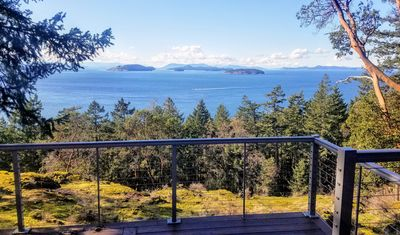 Photo for Orcas Island Sunset Cottage Retreat: Ocean Views