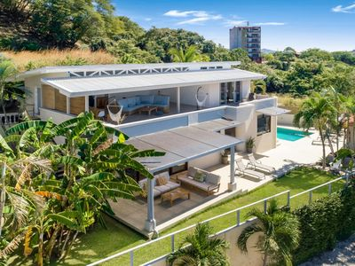 Photo for Waterslide, ocean views, and Covered entertaining luxury 5bd home
