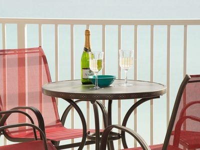 Photo for Beachfront! Panoramic TOP FLOOR views! Affordable luxury at Island Princess 704!