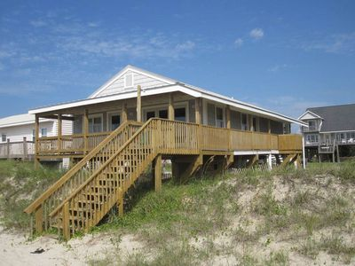 Photo for On Holiday: 2 BR / 1.5 BA home in Oak Island, Sleeps 8