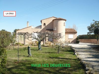 Photo for Provencal villa 130 m² between sea and countryside.