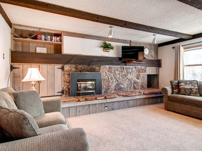 Photo for 20% Off! Prime Downtown Location! Wi-Fi, Indoor Pool & Hot Tub, Gas Fireplace