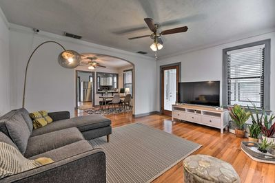Unwind in this 2-bedroom, 2-bathroom vacation rental home in Jacksonville.