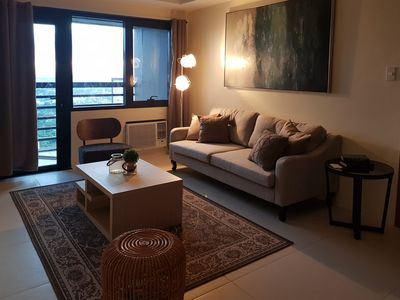 Photo for 1BR Spacious Queen Suite @ Central BGC