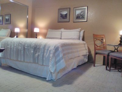 Photo for Palm Springs get away with private en-suite and private enterance