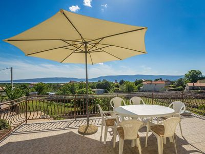 Photo for Comodius sunny apartment - excellent position, private balcony, sea view, parking