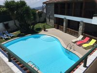This is a lovely villa with pool set in lovely hill side, with stunning views across the valley.