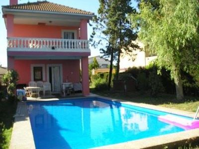 Photo for Detached villa with private pool from May 1