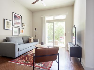 Photo for Sonder | Pleasant Valley | Chic 1BR + Balcony