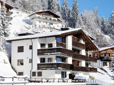 Photo for One bedroom Apartment, sleeps 4 in Laax with WiFi