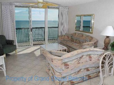 Photo for Ashworth Unit 1201! Stunning Ocean Front Condo! Book your get away today!