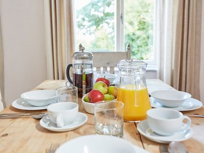 Enjoy a hearty breakfast before a days exploring