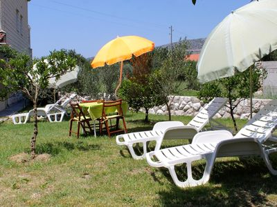 Photo for Studio flat with terrace Slano, Dubrovnik (AS-2179-a)