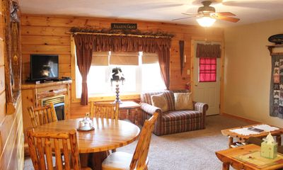 Photo for Blessings Lodge - Two-Bedroom Fireplace/Jacuzzi Suite - Ohio's Amish Country