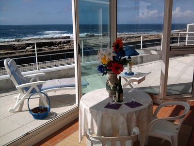 Photo for Villa with stunning views, Huge 180? panoramic view terrace