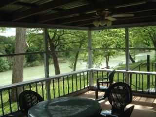 Photo for *Guadalupe Haus River RD river front 6/3 sleeps 18 GuadalupeRentals