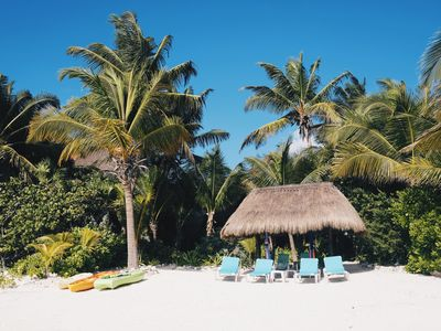 Photo for Beach Front Casa - Soliman Bay - 10 Min. North of Tulum