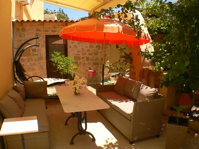 Photo for close to Synagogue- center of Rhodes-UNESCO World Heritage with private garden
