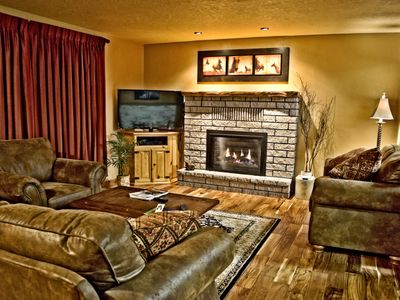 Photo for Sleeps 8, In Town Location, 5 Blocks from Yellowstone,  Fire Place, WIFI, 3BR 2B