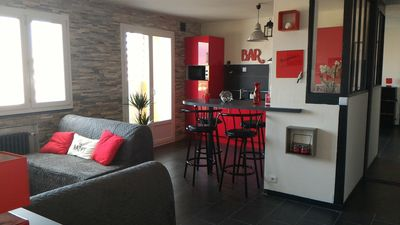 Photo for Promo apt 50 m² 4 pers 1 bed Parking-WIFI-balcony-prox subway / ring