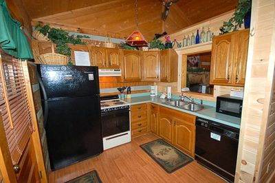 Fully Equipped Kitchen for Dining In