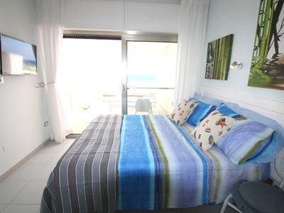 Photo for Penthouse for 2 with panoramic views and only 50 meters from the sandy beaches