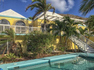 The Palms at Carina Bay is a single family villa with an apartment pool level.