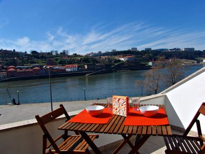 Photo for 1 bedroom apartment with fantastic views over the Douro River