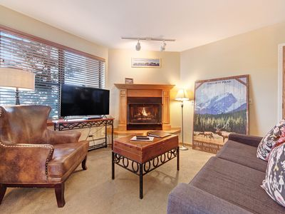 Photo for Condo close to skiing, shopping, dining w/ shared amenities!