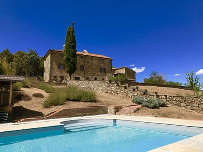 Photo for Restored Villa - Country House - Priest's House, Umbria/Tuscany borders