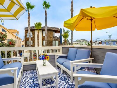 Photo for ✅ UNMATCHED LUXURY ☀️ S. Mission Beach Family Rental, AC, Garage, OCEAN VIEW DECK!