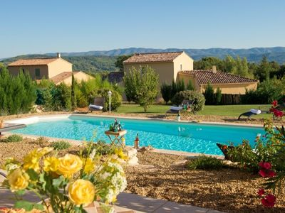 Photo for VILLA WITH PRIVATE POOL IN THE LUBERON