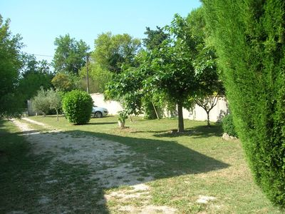 Photo for Villa in Isle-sur-Sorgue 30 meters from Avignon -close Water Sharing