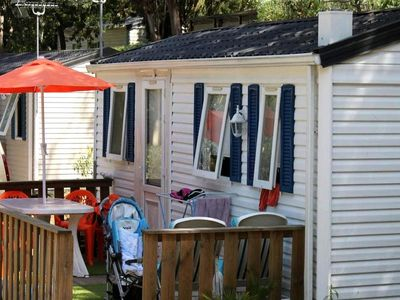 Photo for Campsite le Plateau des Chasses *** - Mobile Home Hexa Confort 3 Rooms 6 People