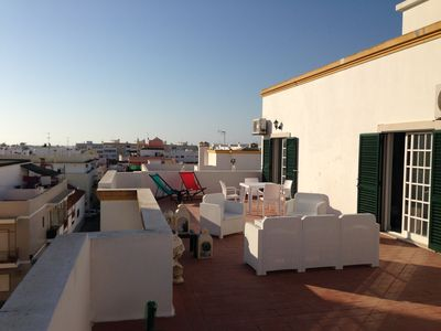 Photo for Penthouse apartment with large private terrace of 70m2