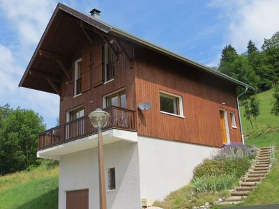 Photo for Beautiful Alpine Chalet in Les Bauges Regional Park with stunning mountain views