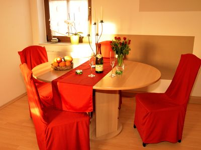 Photo for Great apartment right on Pillnitz for couples and families