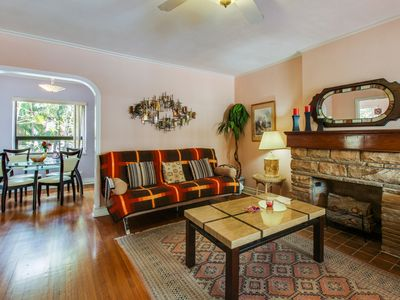 Photo for NEW LISTING! Charming, waterfront condo w/ patio -1/2 block to Hollywood Beach